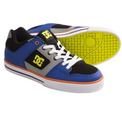 DC Shoes Pure Skate Shoes (For Men) in Battleship/Yellow