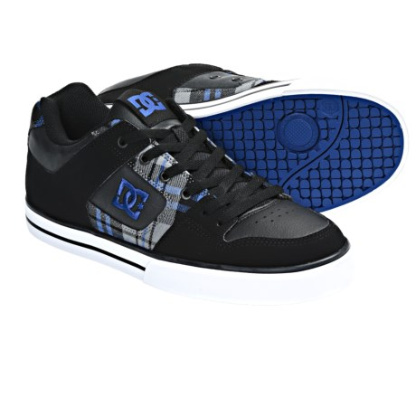 DC Shoes Pure XE Skate Shoes (For Men) in Black/Black/Royal