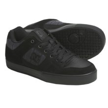 DC Shoes Pure XE Skate Shoes (For Men) in Black/Dark Shadow - Closeouts