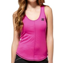 DC Shoes Racket Tank Top (For Women) in Crazy Pink - Closeouts