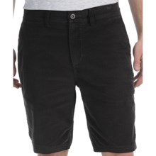 DC Shoes Randsom Shorts - Straight Pinwale Corduroy (For Men) in Black - Closeouts