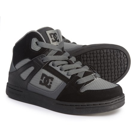 DC Shoes Rebound Sneakers (For Boys) in Black