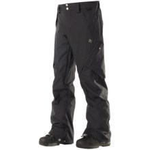 DC Shoes Recon Snowboard Pants - Waterproof (For Men) in Black - Closeouts