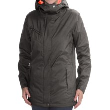 DC Shoes Reflect Snowboard Jacket - Waterproof, Insulated (For Women) in Caviar - Closeouts
