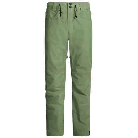 DC Shoes Relay Snow Pants - Waterproof, Insulated (For Men) in Sea Spray - Closeouts