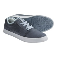 DC Shoes Reset Oxford Shoes - Leather (For Men) in Blue - Closeouts