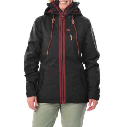 DC Shoes Revamp Snowboard Jacket - Waterproof, Insulated (For Women) in Anthracite - Closeouts