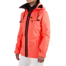 DC Shoes Revamp Snowboard Jacket - Waterproof, Insulated (For Women) in Fiery Coral - Closeouts