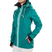 DC Shoes Revamp Snowboard Jacket - Waterproof, Insulated (For Women) in Harbor Blue - Closeouts