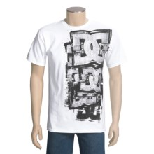 DC Shoes Reverb UV T-Shirt - Short Sleeve (For Men) in White - Closeouts