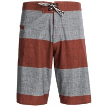 DC Shoes Rigby Boardshorts (For Men) in Monument Blue - Closeouts