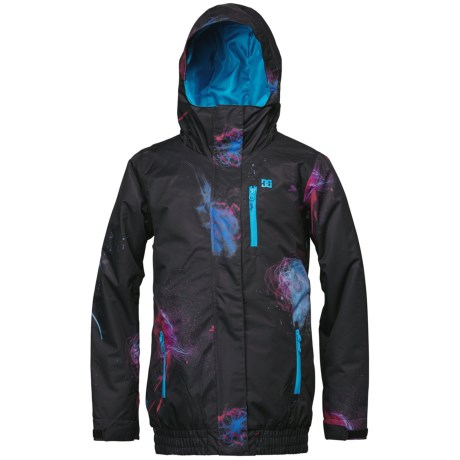 DC Shoes Riji Snowboard Jacket - Insulated (For Women) in Caviar/Patern 3