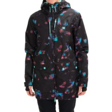DC Shoes Riji Snowboard Jacket - Waterproof, Insulated (For Women) in Drico - Closeouts