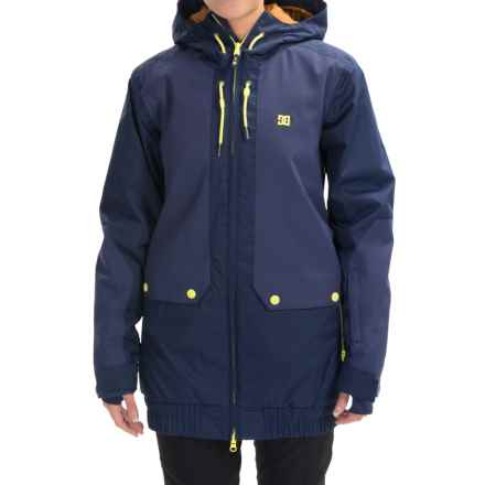 DC Shoes Riji Snowboard Jacket - Waterproof, Insulated (For Women) in Patriot Blue - Closeouts
