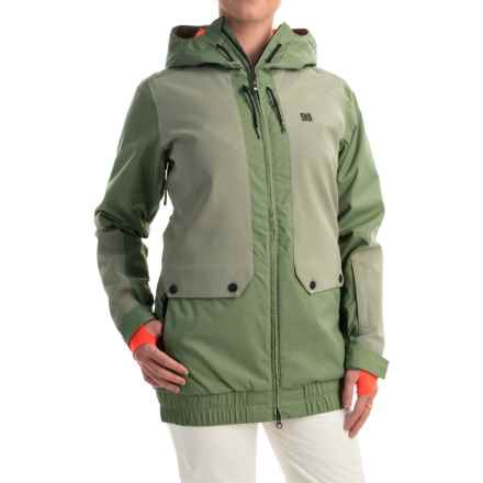 DC Shoes Riji Snowboard Jacket - Waterproof, Insulated (For Women) in Sea Spray - Closeouts