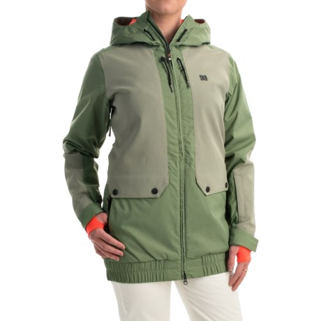 DC Shoes Riji Snowboard Jacket Waterproof, Insulated (For Women)