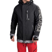 DC Shoes Ripley Snowboard Jacket - Waterproof, Insulated (For Men) in Anthracite - Closeouts