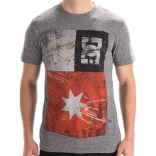 DC Shoes Rode T-Shirt - Short Sleeve (For Men) in Heather Grey - Closeouts