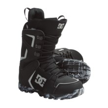 DC Shoes Rogan Lace Snowboard Boots (For Men) in Black/Grey - Closeouts