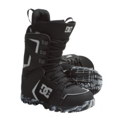 DC Shoes Rogan Lace Snowboard Boots (For Men) in Black/Grey