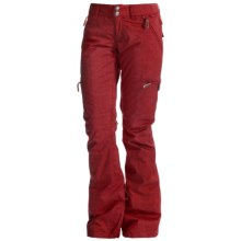 DC Shoes Scarlett Snow Pants - Waterproof, Insulated (For Women) in Rio Red - Solid - Closeouts