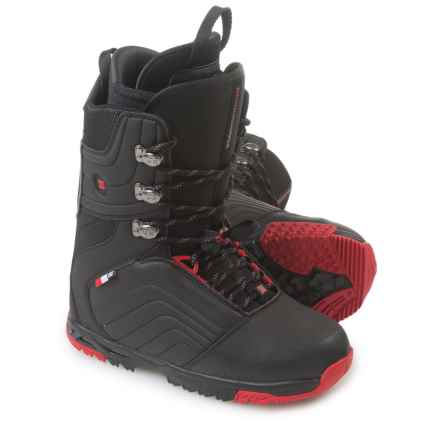 DC Shoes Scendent Snowboard Boots (For Men) in Black/Red - Closeouts