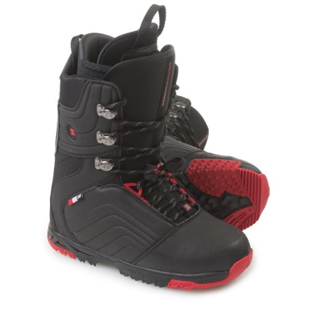 DC Shoes Scendent Snowboard Boots (For Men) in Black/Red