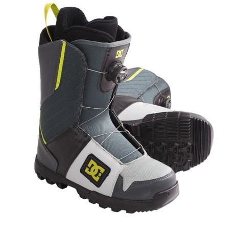 DC Shoes Scout BOA(R) Lace Snowboard Boots (For Men)