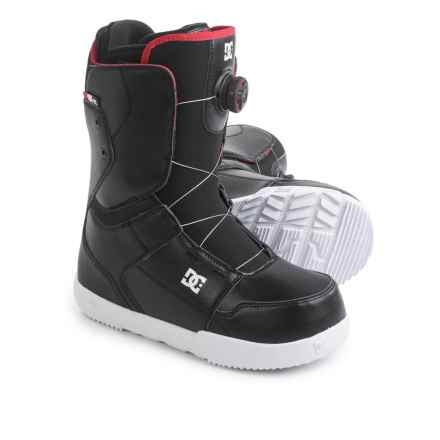 DC Shoes Scout BOA® Snowboard Boots (For Men) in Black - Closeouts