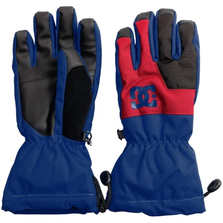 DC Shoes Seger Gloves - Waterproof, Insulated (For Boys)