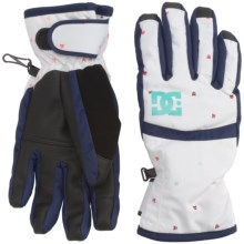 DC Shoes Seger Snowboard Gloves - Waterproof, Insulated (For Women) in Minicats - Closeouts