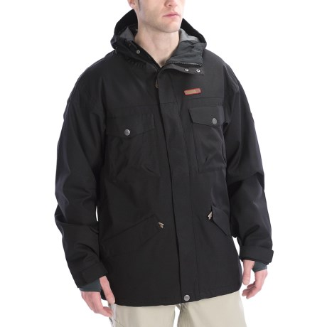 DC Shoes Servo 13 Jacket - Insulated (For Men) in Black