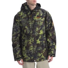 DC Shoes Servo 13 Jacket - Insulated (For Men) in Camo Print - Closeouts