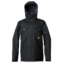 DC Shoes Servo Snowboard Jacket - Insulated (For Men) in Black