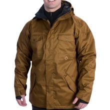DC Shoes Servo Snowboard Jacket - Insulated (For Men) in Rubber - Closeouts