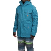 DC Shoes Servo Snowboard Jacket - Waterproof, Insulated (For Men) in Faience - Closeouts