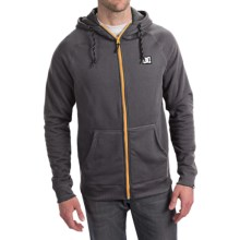 DC Shoes Siren Hoodie Sweatshirt - Water Repellent, Fleece Lined (For Men) in Pirate Black - Closeouts