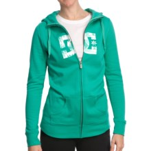 DC Shoes Snowstar Hoodie Sweatshirt - Zip (For Women) in Arcadia Green - Closeouts