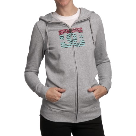 DC Shoes Snowstar Hoodie - Zip (For Women) in Heather Grey