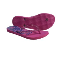 DC Shoes Solana Thong Sandals - Flip-Flops (For Women) in Pink - Closeouts