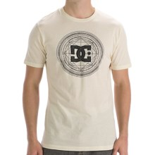 DC Shoes Solo Flyer T-Shirt - Heathered Cotton, Short Sleeve (For Men) in Natural - Closeouts
