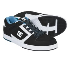 DC Shoes Spartan Lite Skate Shoes (For Men) in Black/White/Black - Closeouts