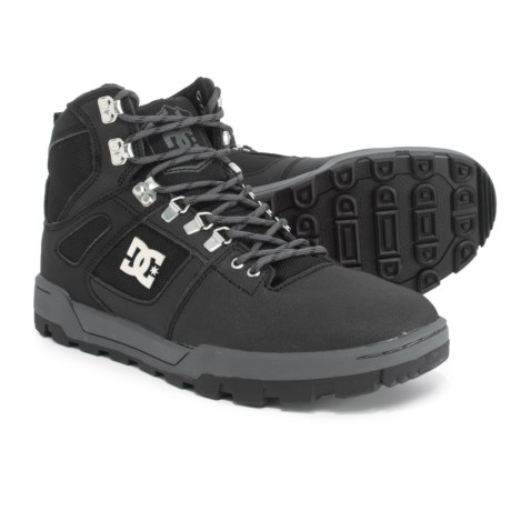 DC Shoes Spartan Thinsulate® Hiking Boots - Leather (For Men) in Black