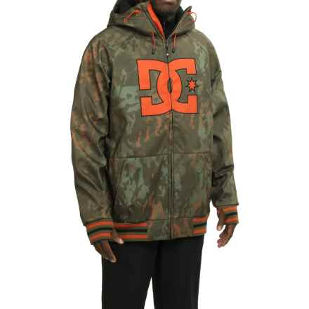 DC Shoes Spectrum Snowboard Jacket - Waterproof (For Men) in Camo Lodge - Closeouts