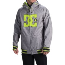 DC Shoes Spectrum Snowboard Jacket - Waterproof (For Men) in Heather Pewter - Closeouts