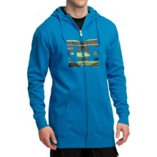 DC Shoes Star Snow Hoodie Sweatshirt - Full Zip (For Men) in Blue Jay - Closeouts