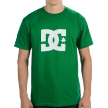 DC Shoes Star T-Shirt - Short Sleeve (For Men) in Green - Closeouts