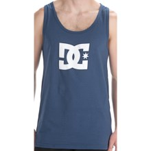 DC Shoes Star Tank Top - Cotton, Sleeveless (For Men) in Dark Denim - Closeouts