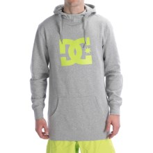 DC Shoes Starsnow Hoodie Sweatshirt - Pullover (For Men) in Heather Grey - Closeouts