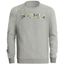 DC Shoes Steelson NVRBKN Sweatshirt - Raglan Sleeve (For Men) in Heather Grey - Closeouts